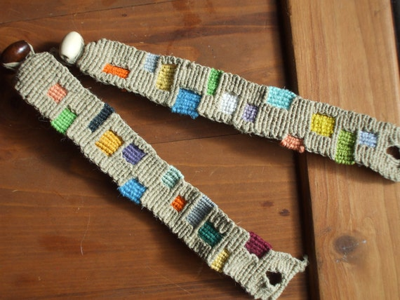 Hemp Patch Bracelet