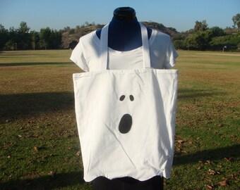 Ghost Tote - white