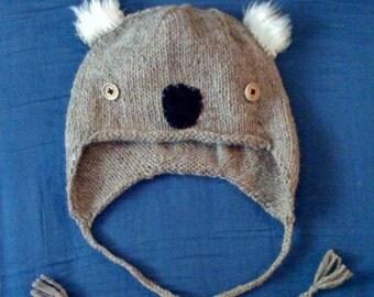 KOALA hand knit hat - bobcathats