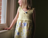 KNITTING PATTERN  upcycled party dress