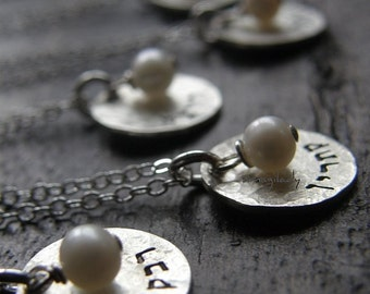 Romantic Wedding Jewelry (gifts for your bridesmaids)  personalized it with your name or word) In Hebrew Or English - Simag