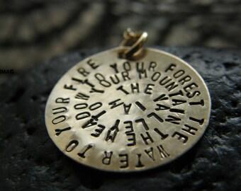 Y O U R Quote - Words  - Inscription - Poem - Names  On Y O U R Necklace-    by- SimaG