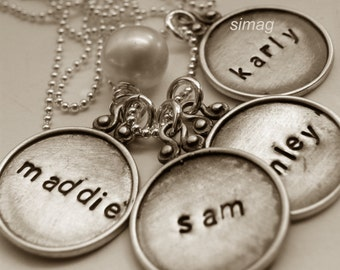 Every Disc Has A Story   -   4 discs  1 pearl---- By SimaG