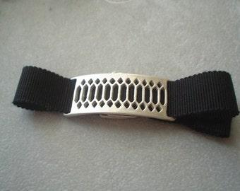 Sterling Silver Lattice Ribbon Bracelet or Choker