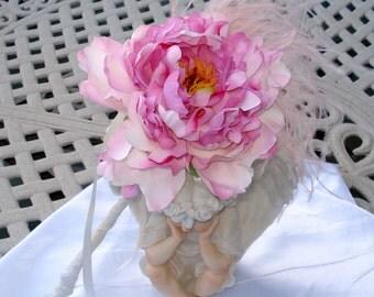 Bridal Bouquet Wedding Flower Wand Flower Girl Bouquet Hot Pink
