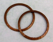 Hammered Ring, Vintage Patina, Trinity Brass, 2 Pc. VP130