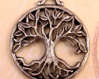Tree Of Life Pendant, Antique Pewter AP60