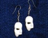 Phantom of the Opera Half Mask Earrings