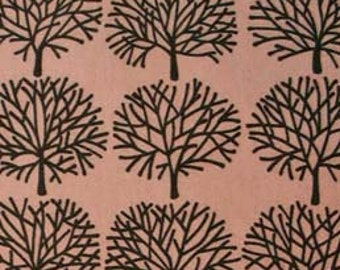 "17"" and 29"" Pink blush Tree A Ghastly Night Ghastlies Fabric by alexander henry"