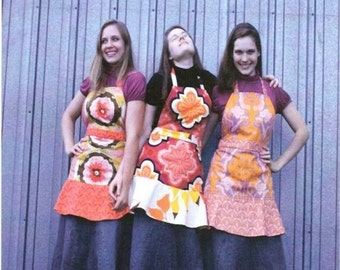 SALE Chic Sisters Apron PATTERN