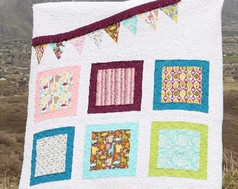 SALE PATTERN Pennant Parade Quilt