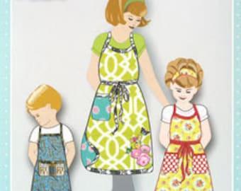 SALE Shopgirl Apron PATTERN for boys girls & women