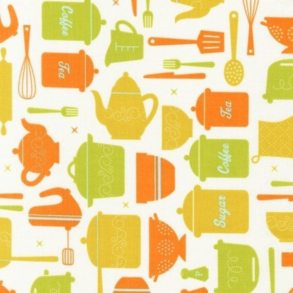 23 Suburbia Retro Kitchen Fabric