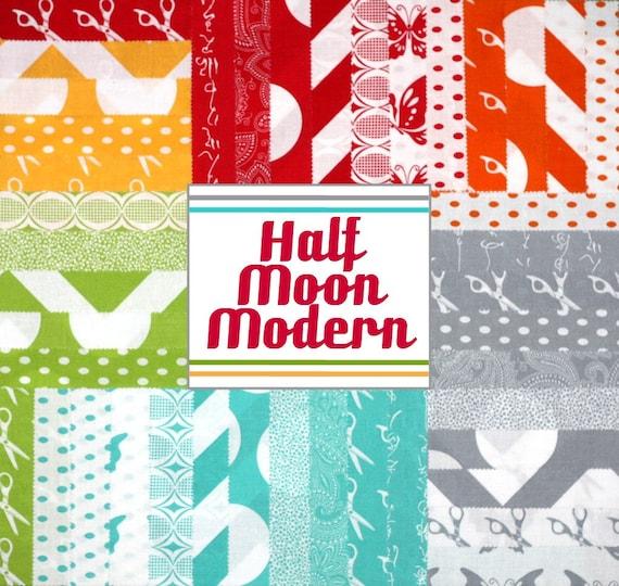 Half Moon Modern 5 inch charm pack Moda Fabric