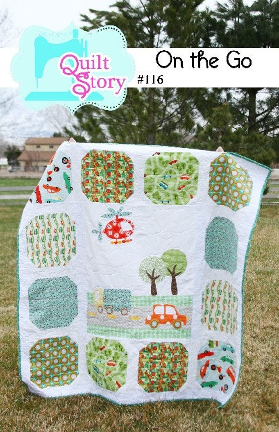 PATTERN On the Go baby boy Quilt