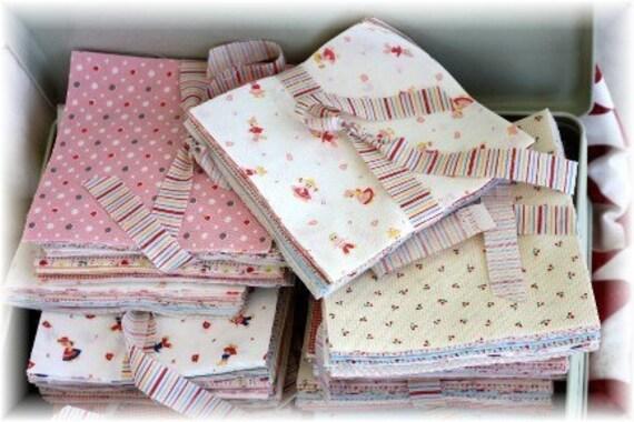 Minny Muu Japanese fabric 5 in. charm squares