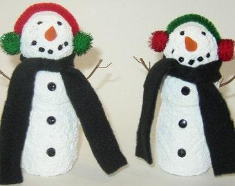 "Christmas Snowmen - ""Danimal"" Snowmen"