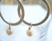 The Favorite Silver Hoop Earrings