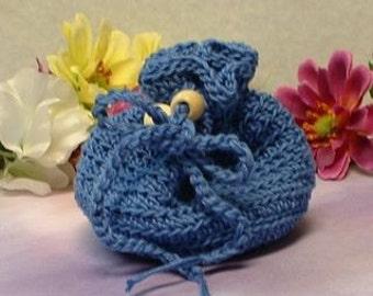 Denim Blue Treasure Bag