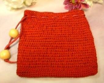 Crimson Treasure Bag