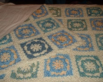 Not your average granny square afghan