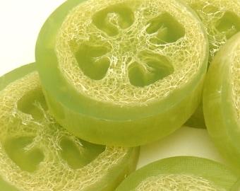 Lime Loofa Soap
