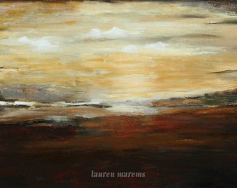 Large paintings on canvas art desert earth tones marems made to order
