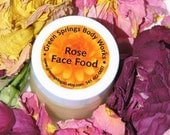 Organic Rose Face Food Moisturizer Cream
