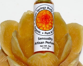 Sensuality  Botanical Perfume