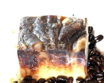 Vanilla Mocha - Cold Processed - Organic Goat Milk Soap - Complexion Bar