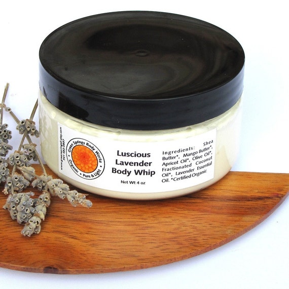 Luscious Lavender Shea Body Whip