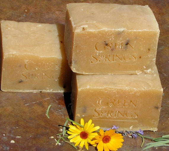 Spicy Love - Unisex Goats Milk Complexion Bar  - Rosemary Lavender