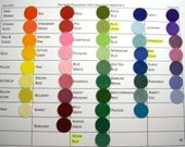 TWENTY Choose 20 colors felt sheets 9 x 12