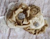 NEW sale rustic wedding bridal sash beaded sash Ivory Silk Wedding Bridal Belt Bridesmaids Sash / Wedding Dress Sash / Flower Girl Sash Belt