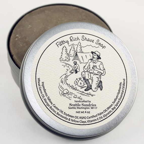 Filthy Rich Shave Soap