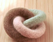 Organic GNOT Teether and Clutch Toy--Ice Cream Colors