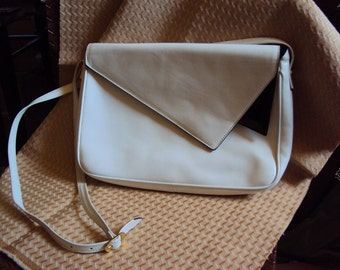 Salvatore Ferragamo Designer Crossbody Leather Purse Made in Italy T