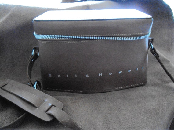 Bell Howell Vintage Leather Camera Case REDUCED!!