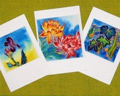 Handmade cards - Flower 04, Autumn peace