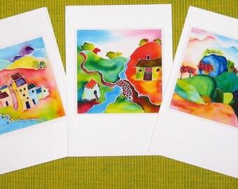Handmade cards - Scenery 04, DearmScape
