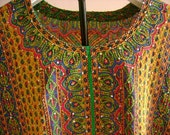 Fancy Crepe Blouse with Kantha Stitch Embroidery