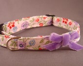 VIOLET RAPTURE elegant cat collar
