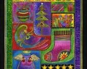 RARE Laurel Burch Bountiful Blessings Panel