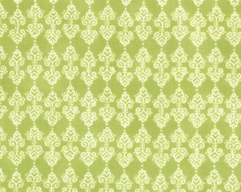 Meadow Friends Spring Green Fabric 1 Yard