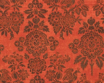 Curio Victoria Orange Fabric 1 Yard