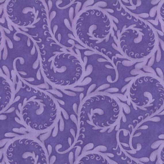 Terrain Fern Purple Fabric 1 Yard