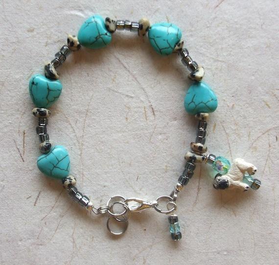 Hearted Pug Bracelet