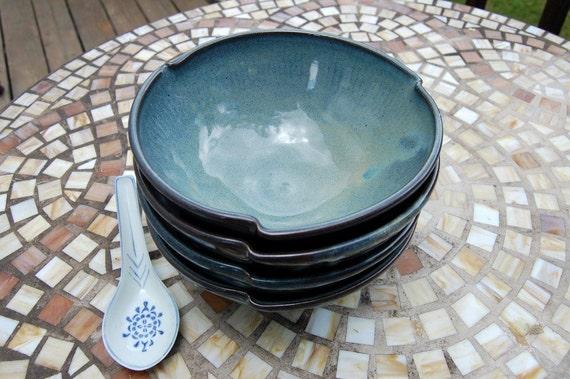 Set of Four Soup Bowls