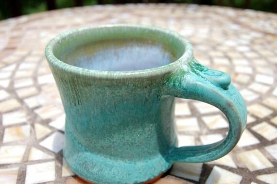 Small Turquoise Mug