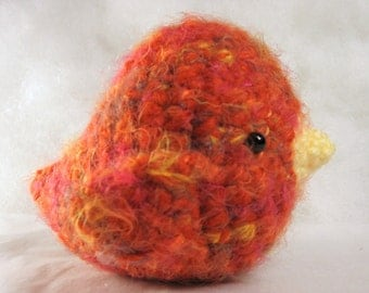 Amigurumi Crochet Pattern - Sweet Little Birds